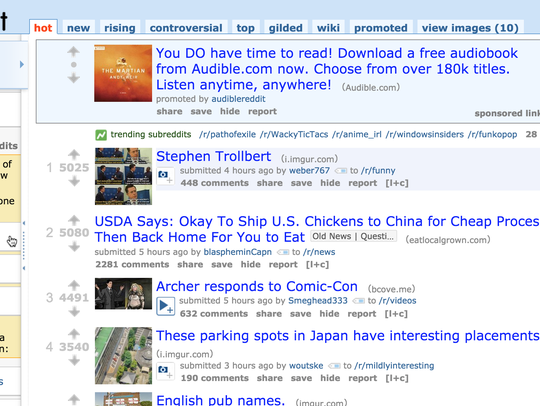 Reddit Calls Itself The Front Page Of The Internet