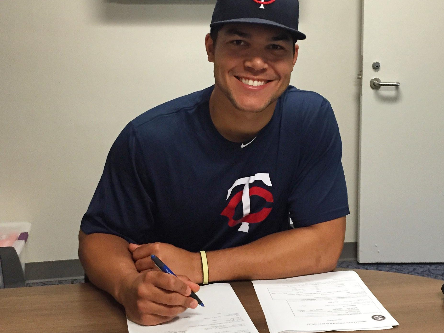 Former Blackman High baseball standout Zander Wiel signed with the Minnesota Twins on Saturday.