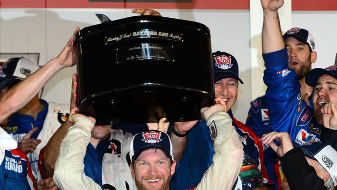 Dale Earnhardt Jr. has won the Daytona 500 twice -- 10 years apart.