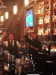 Bartenders at the Brickyard.