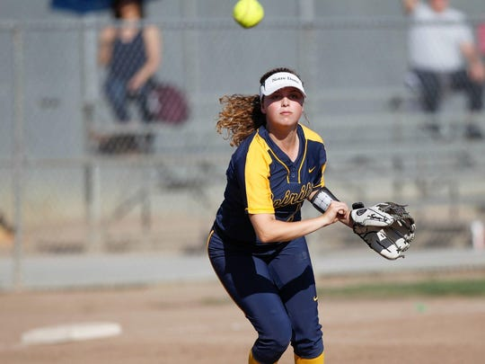 Notre Dame's Rachel Reimal had 21 RBI this season as one of many productive players on offense for the Spirits. They'll need to bring that heat from the plate in the second round of Central Coast Playoffs this Saturday against Half Moon Bay.