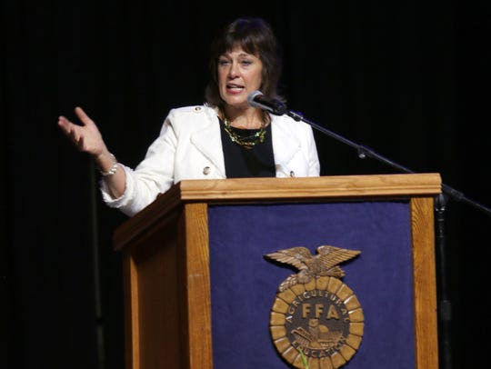 """""""As Secretary of the Wisconsin Department of Agriculture, Trade and Consumer Protection, I hope you and your family take time to make your way to at least one of the state's dozens of fairs,"""" says Harsdorf."""