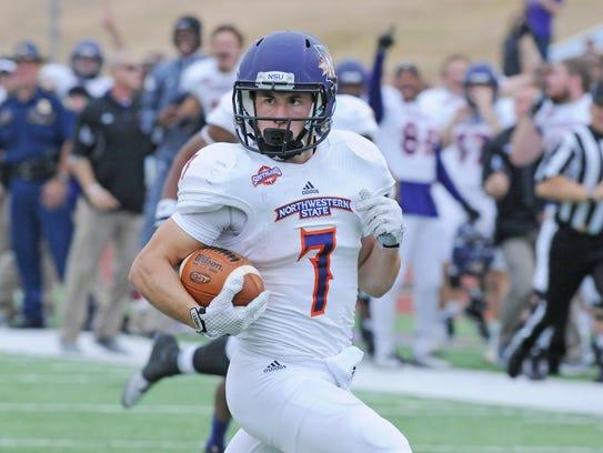 Northwestern State receiver and return specialist Ed