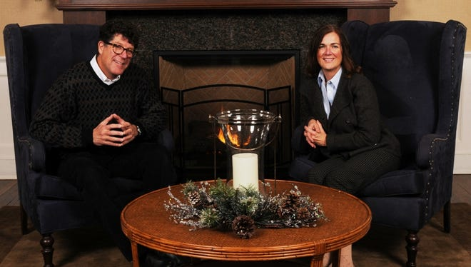 Bill and Beth Wyman are Oshkosh Northwestern Media Newsmakers of the Year for 2014.