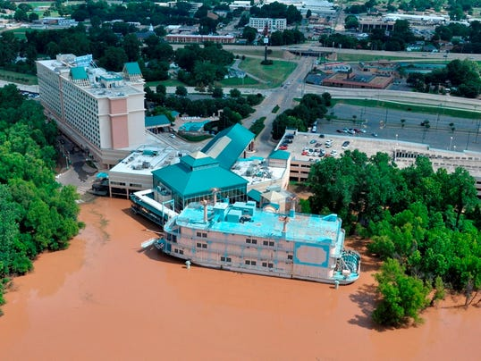 Aerial Photos of Red River June 26, 2015