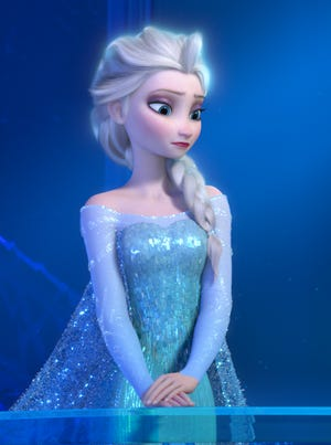 """The new Disney Movies Anywhere digital movie service allows fans to take their favorite Disney films on the go, including """"Frozen."""""""