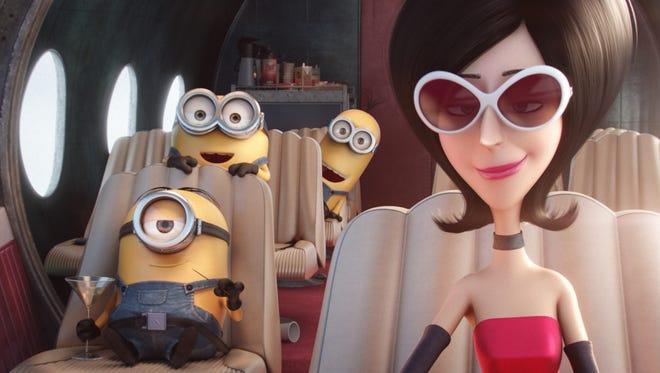 Sandra Bullock voices Scarlet Overkill in 'Minions.'