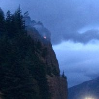 21 small wildfires ignited by hundreds of lightning strikes across Oregon