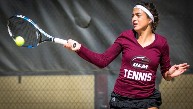 The ULM tennis team will play for the Sun Belt Conference championship on Sunday.