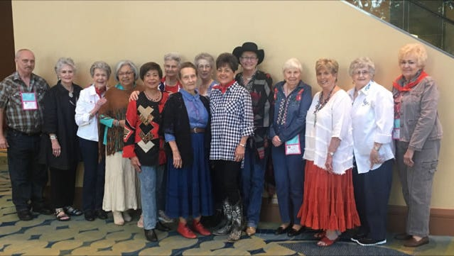 Shannon volunteers attend 74th Annual Texas Association of Healthcare Volunteers conference.