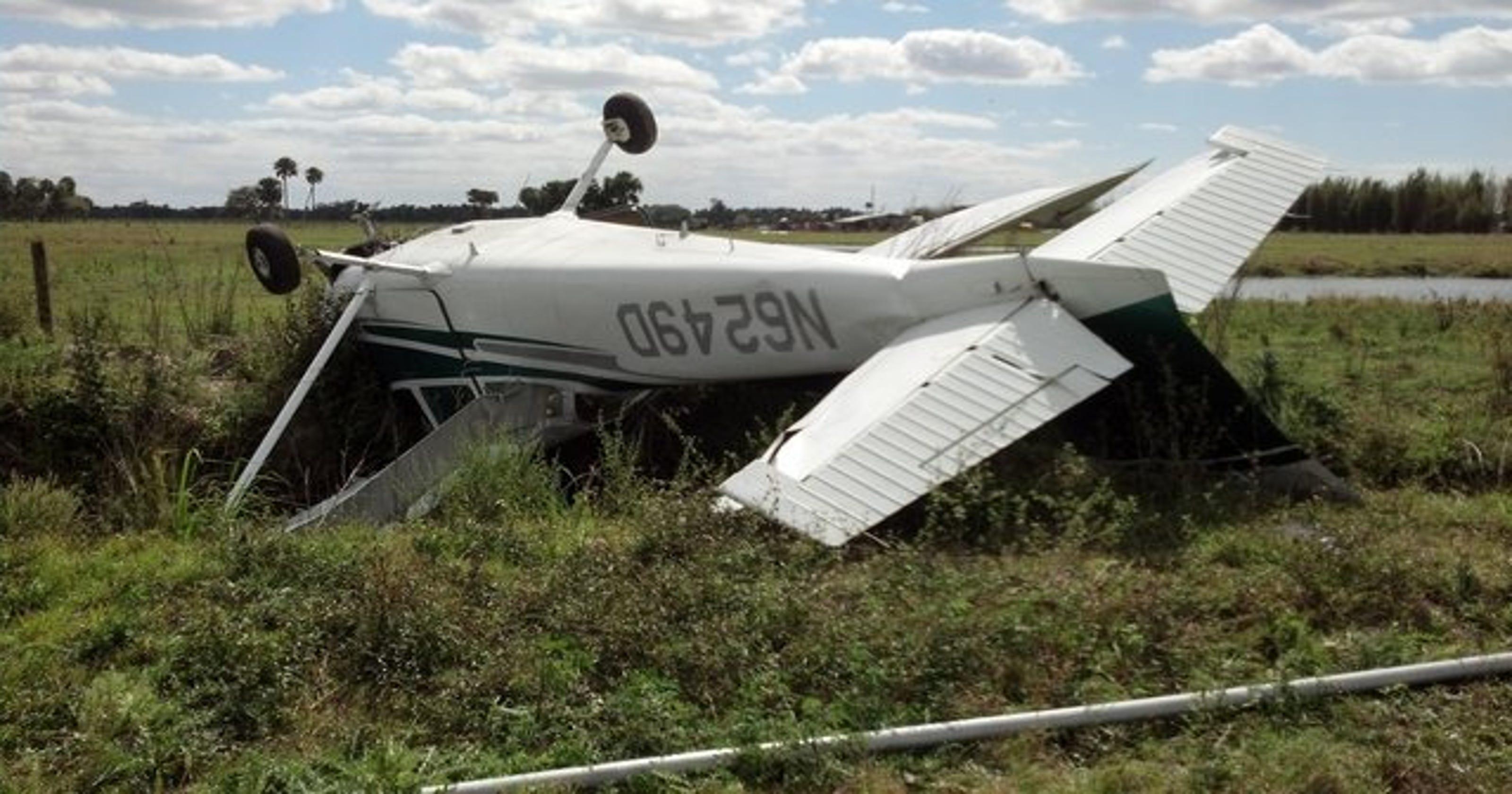 Database: Plane crashes on the Treasure Coast, 1982 to April