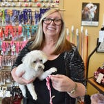 Julie Stockton, owner of Diva Dog Pet Groomers in Ridgeland, began her enterprise with a mall kiosk. She now also owns Puppy Suds in Madison and Diva Dog Door to Door, a van that offers dog grooming at one's front door.