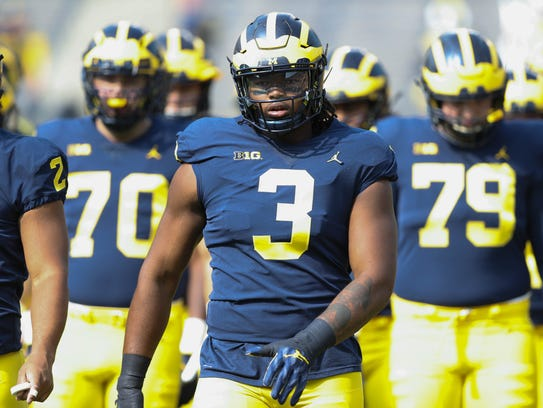 Rutgers offered Michigan defensive end Rashan Gary a scholarship when the New Jersey native was just 13.