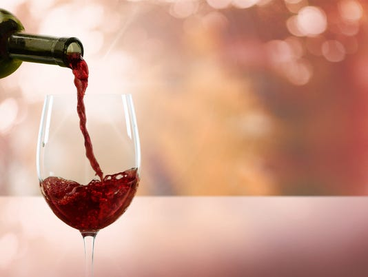 Wine, Pouring, Glass
