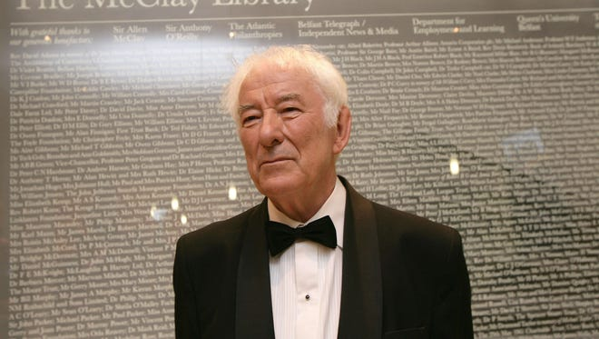 Poet Seamus Heaney has died.