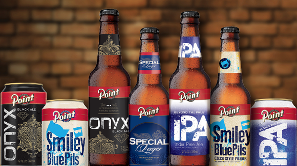 The Stevens Point Brewery has updated its logo and is introducing new graphics for each of its beers.