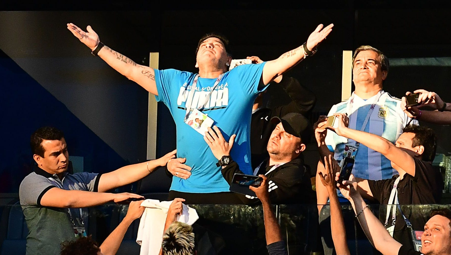 World Cup 2018 Diego Maradona Needs To Leave And Get Right