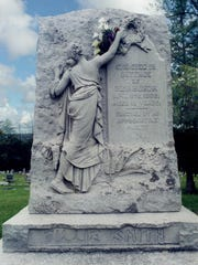 The grave of Tillie Smith in Union Cemetery, Hackettstown.