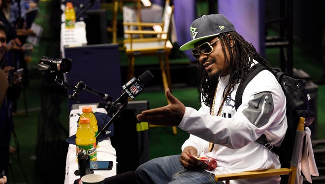 Seattle's Marshawn Lynch and New England's LeGarrette Blount might be the most dislikeable tailback platter in big-game history.