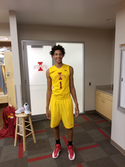 George Conditt accepted an Iowa State basketball scholarship