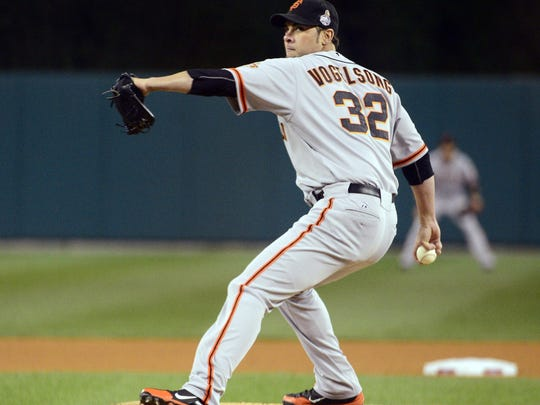 San Francisco Giants pitcher Ryan Vogelsong was a 2011 National League All-Star.