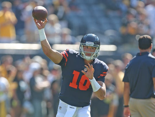 27. Bears (23): Rookie QB Mitchell Trubisky enters