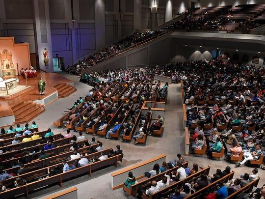 The Sagrado Corazon congregation has been meeting in