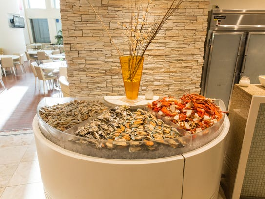 The Taste buffet at the Westin Resort Guam offers a
