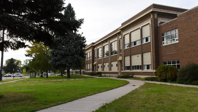 Joe Foss School at Cliff Avenue and Third Street in Sioux Falls. Qadar Sadat, new owner of the school, wants to convert the building into an old country market square offering retail and office space.