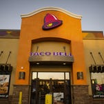 A Taco Bell restaurant, a unit of Yum! Brands Inc., stands in Daly City, California.
