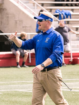 Nagle followed Matt Viator from McNeese State to ULM as running backs coach/special teams coordinator.