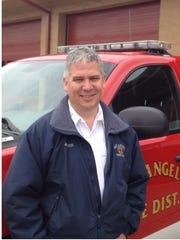 Mt. Angel Fire Chief Jim Trierweiler