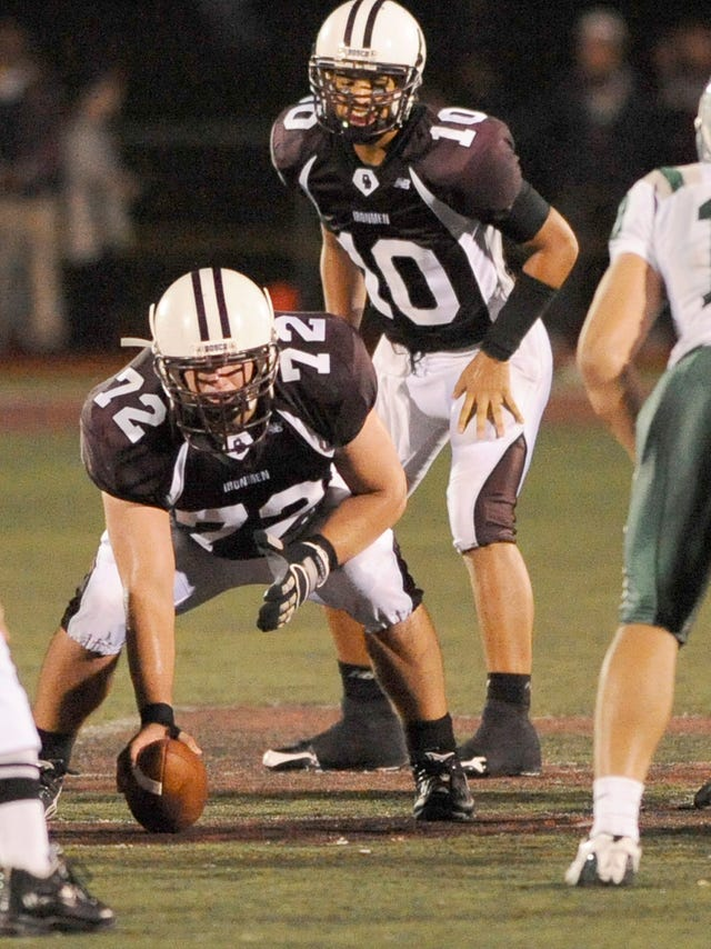 new concept 8e9b1 7e028 Former Don Bosco long-snapper Thomas Hennessy finds a home ...