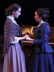 Margaret Leavitt (Annie Dilworth) and Henrietta Leavitt
