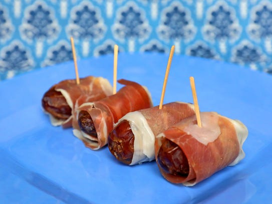 Date Wraps (with prosciutto). (Christian Gooden/St.