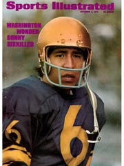 Sonny Sixkiller's passing exploits got him on the cover of Sports Illustrated.