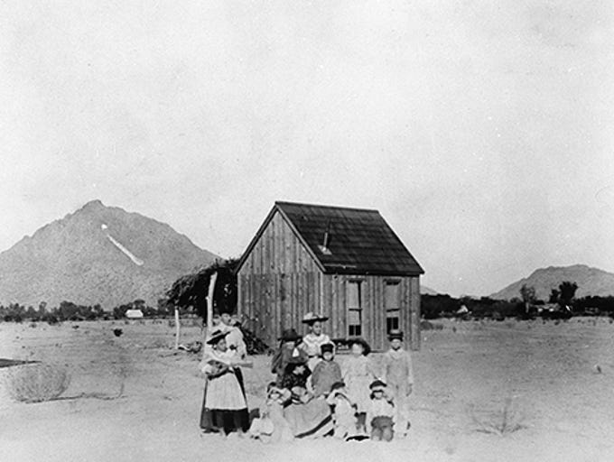 Like any city, Scottsdale's history is dotted with