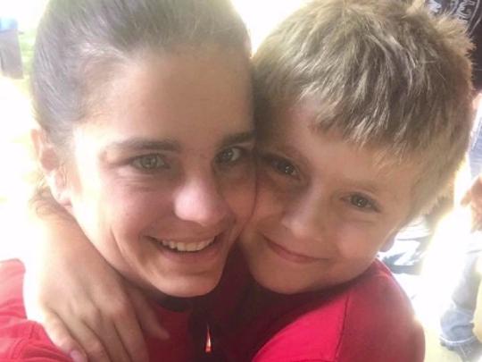 Kelli Kramer and her son, Aiden, were found shot to