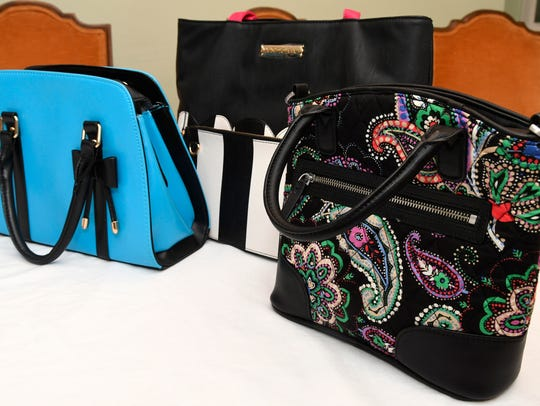 Purses, given by family and friends to Mary Ann Pilbean,