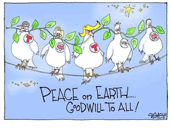 Peace on Earth, Goodwill to All