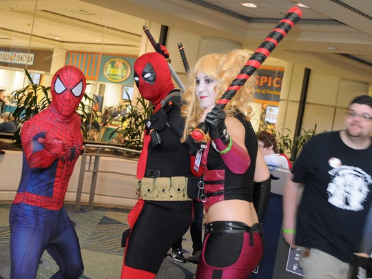 MegaCon 2015, a comic book and sci-fi convention held April 10-12 at the Orange County Convention Center in Orlando.