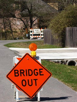 The Cocodril Bridge near Scott is closing Friday indefinitely due to safety concerns.