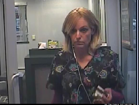 This woman is suspected in a string burglaries in Wall