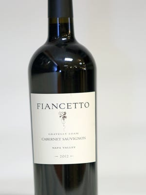 """A bottle of Fiancetto Cabernet Sauvignon """"Gravelly Loam"""" 2012 for mix case was photographed at Vine & Co. in Bedford Hills on Nov. 25, 2014. WEEK 11"""