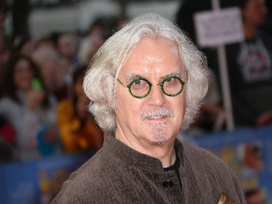 Billy Connolly in central London, Monday, Sept. 22, 2014.