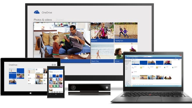 Microsoft OneDrive, allows you to store photos and documents on a cloud.