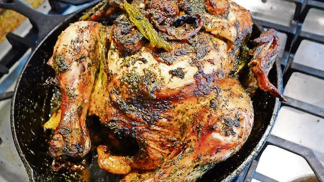 Once you've browned a chicken, you'll never go back to boiling it.