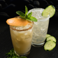Rande Gerber created the Casamigos Cucumber Cilantro Margarita, which is being pitted against George Clooney's Casamigos Grapefruit Mint Paloma in the Chart House tequila showdown.