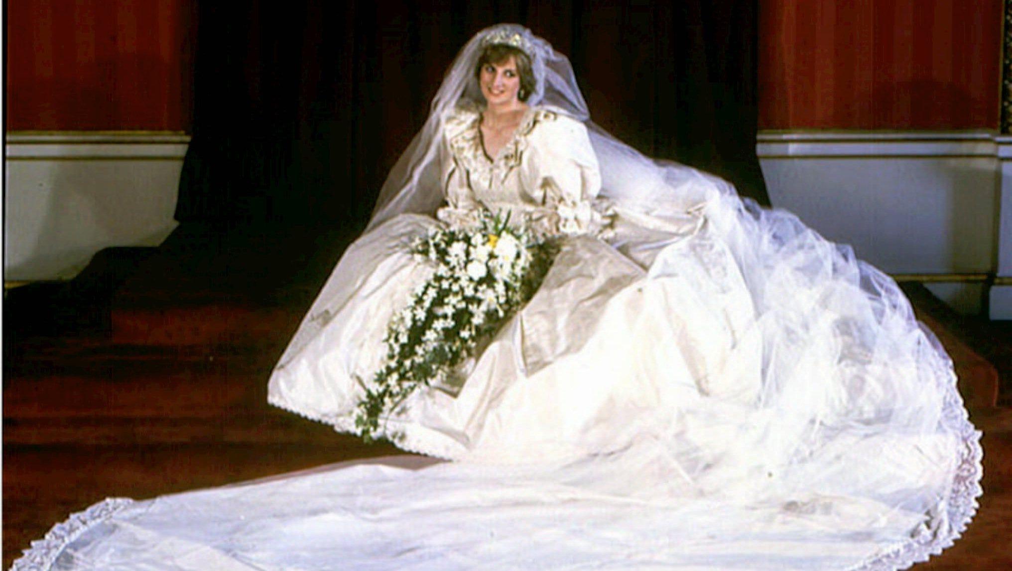 New Princess Diana Wedding Photos For Sale