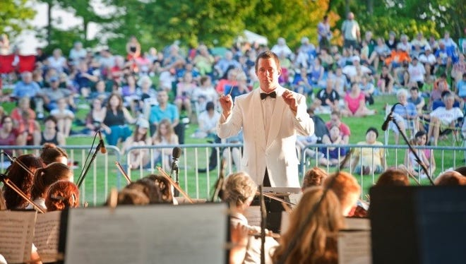 Summer Stage Fest at Minnetrista: Picnic & Pops with Muncie Symphony Orchestra